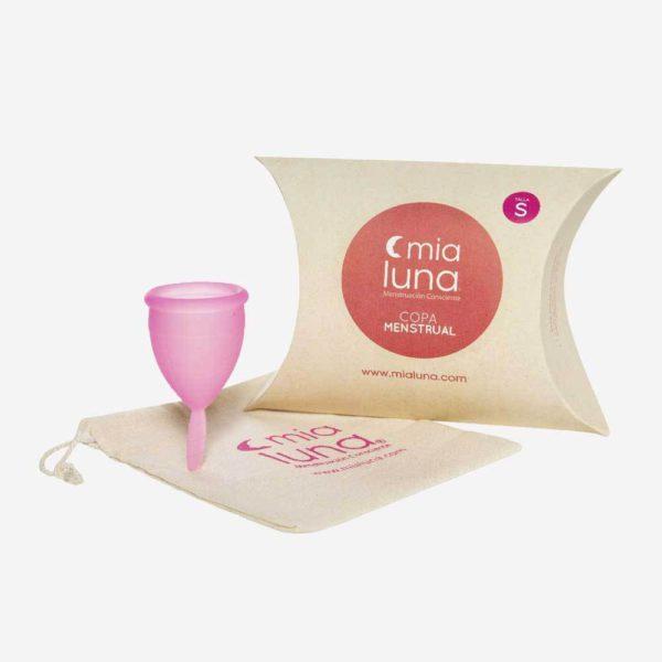 Copita menstrual Mialuna talla S, rosada 1