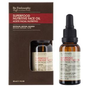 Aceite facial nutritivo 30ml, piel normal a seca