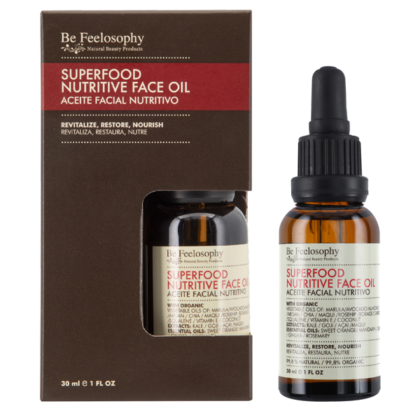 Aceite facial nutritivo 30ml, piel normal a seca 1