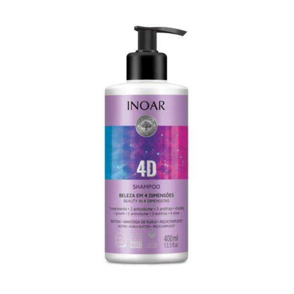 Shampoo 4D 400ml 1