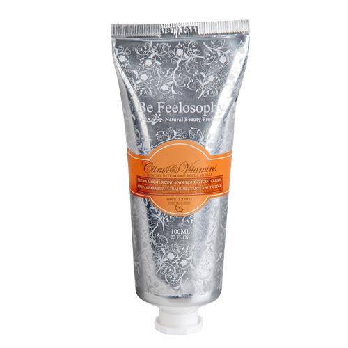 Crema para pies ultrahumectante & nutritiva, citrus y vitamins 100ml 1