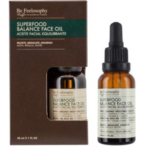 Aceite facial equilibrante 30ml, piel mixta a grasa