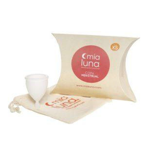 Copita menstrual Mialuna Talla XS, blanca