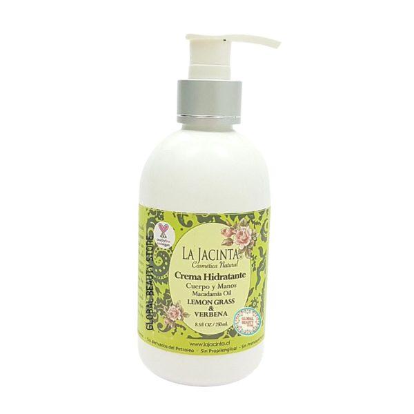 Crema hidratante Lemongrass & Verbena 250ml 1