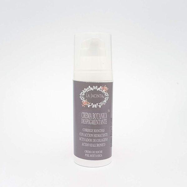 Crema botánica despigmentante antiedad, nocturna /piel mixta-seca 50gr 1