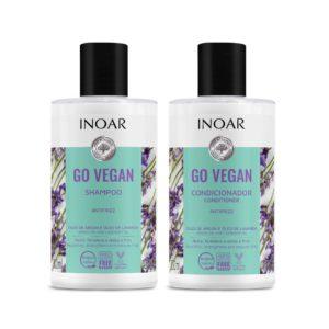 Kit duo Go Vegan Antifrizz, Lavanda 250ml