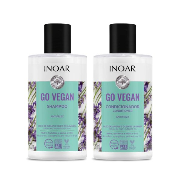 Kit duo Go Vegan Antifrizz, Lavanda 250ml 1