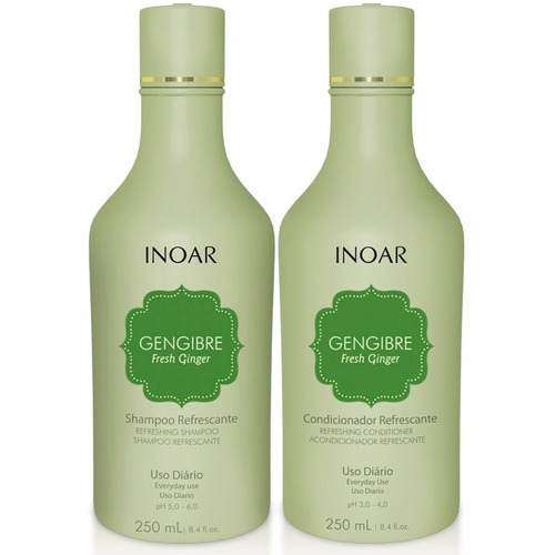 Kit fresh Ginger dúo - 240ml 2