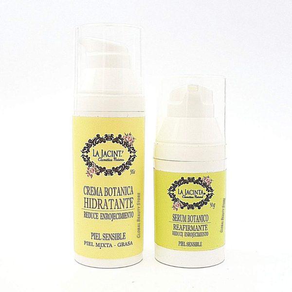 Pack piel sensible, mixta-grasa, reduce enrojecimiento 1