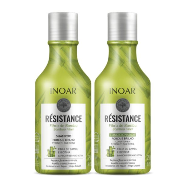 Kit dúo Resistance Bambú y biotina 250ml 2