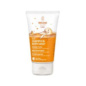 Shampoo y Gel de ducha para Niños Naranja frutal