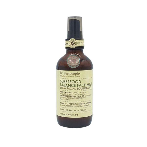 Spray facial equilibrante, piel mixta a grasa 120ml 1