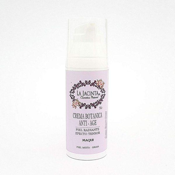 Crema botánica antiage, efecto tensor, piel mixta-grasa 50gr 1