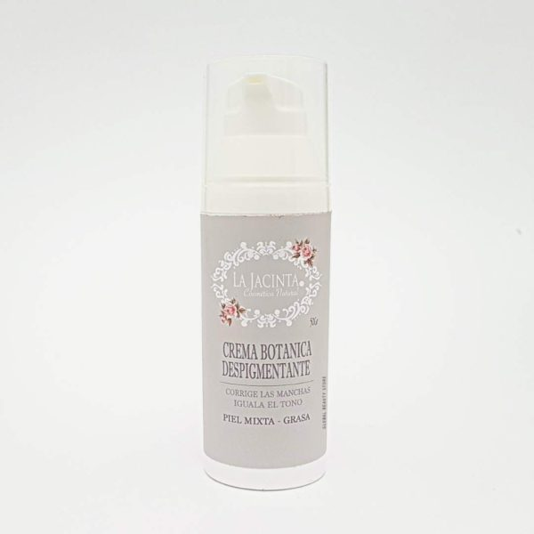 Crema botánica despigmentante piel mixta-grasa 50gr 1