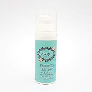 Crema botánica hidratante con aceite de argán, piel nomal-seca 50gr