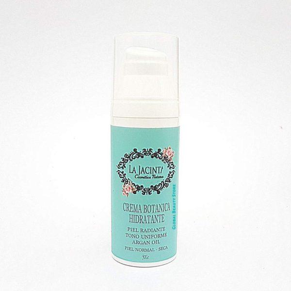 Crema botánica hidratante con aceite de argán, piel nomal-seca 50gr 1
