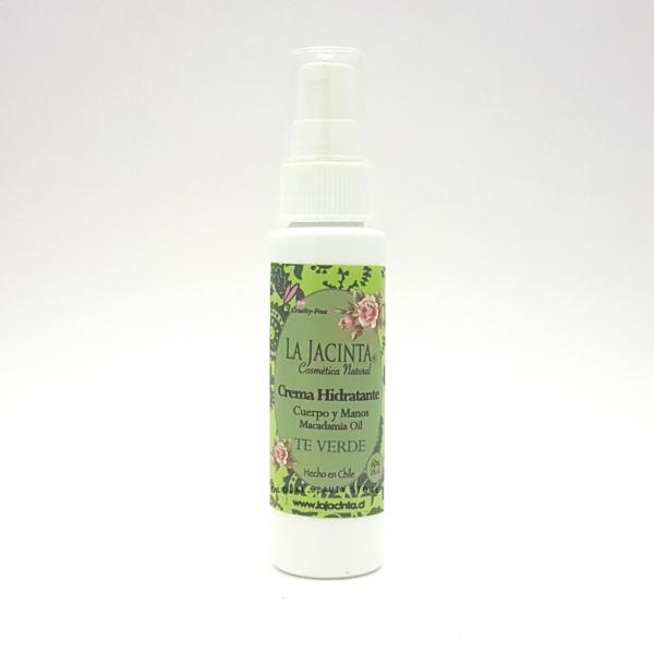 Crema hidratante Té verde 60ml / Dosificador 1