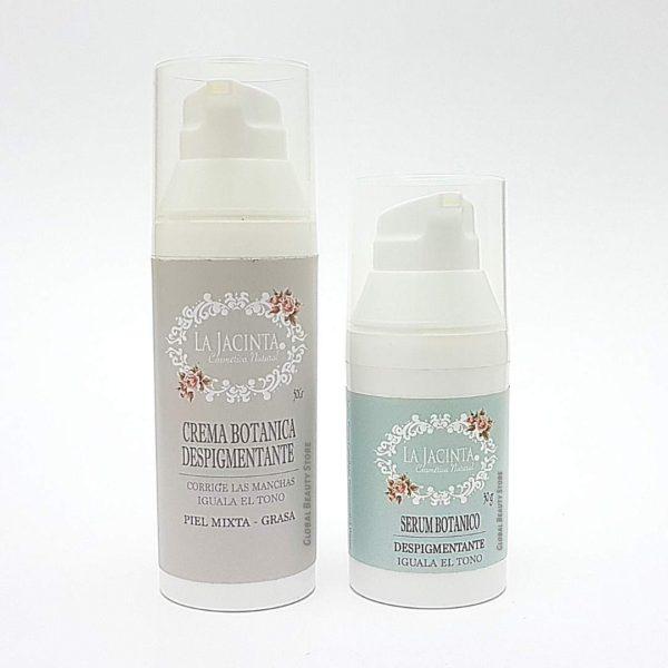 Pack despigmentante piel mixta-grasa 1
