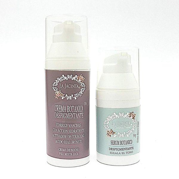 Pack despigmentante antiedad noche/piel seca 1