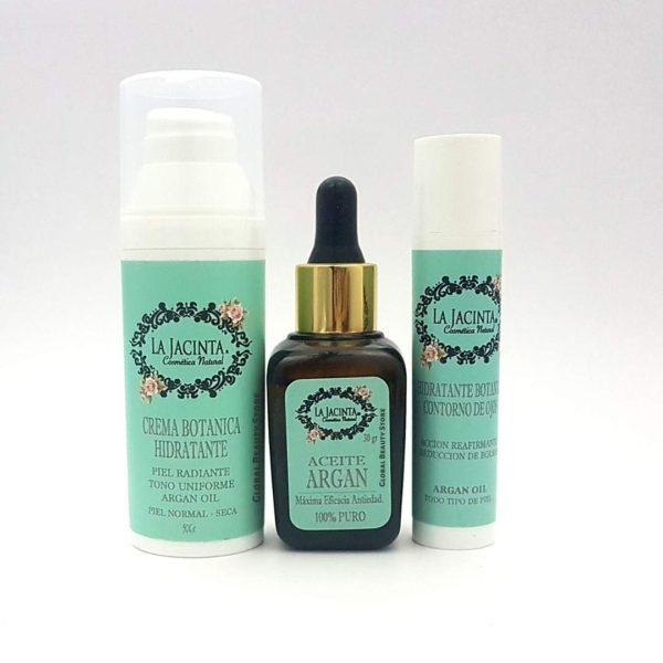 Pack hidratante facial, piel normal a seca 1