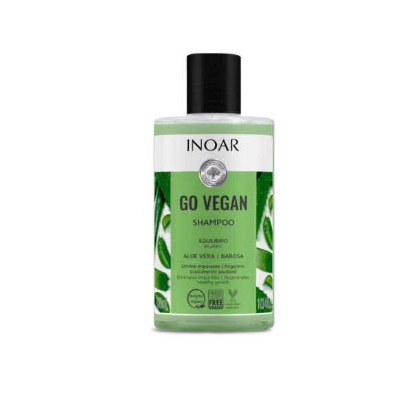 Shampoo Equilibrio Go Vegan, Aloe Vera 300ml 1