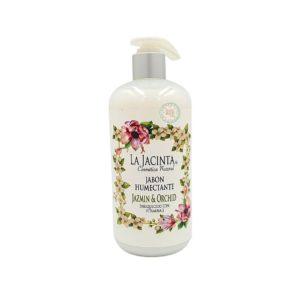 Jabón líquido Jazmin y Orquidea, 500ml emoliente, vitamina E