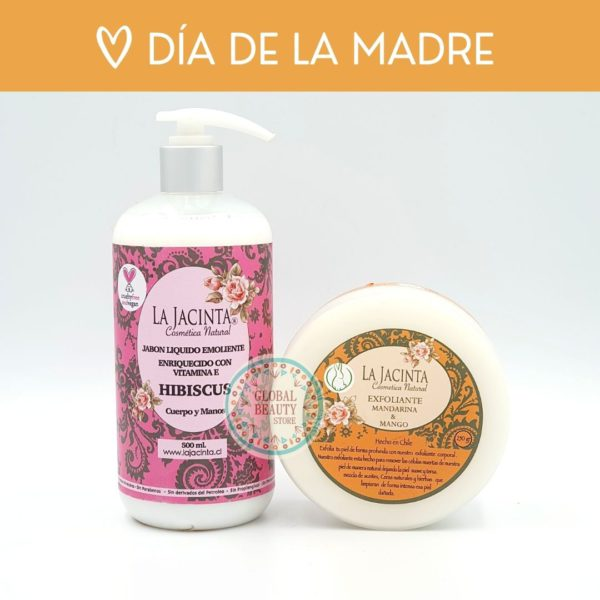 Kit ducha Jabón 500ml + Exfoliante 220gr 1