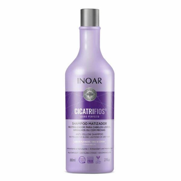 Shampoo Matizador Cicatrifios Rubio Perfecto 800ml 1