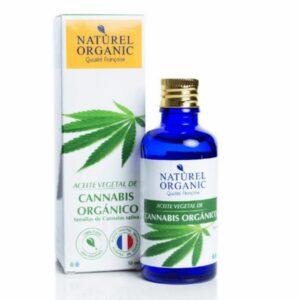 Aceite vegetal de cannabis orgánico